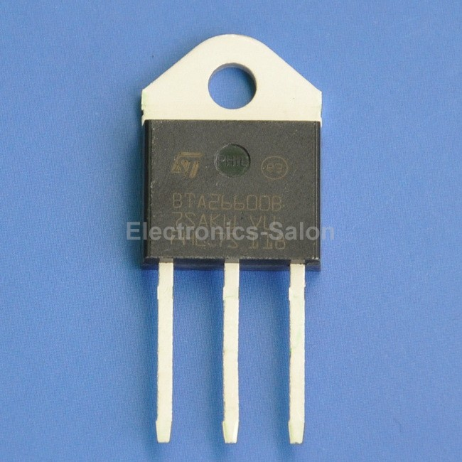 Тиристор ST 25 600 bta26600brg, Bta26600b,