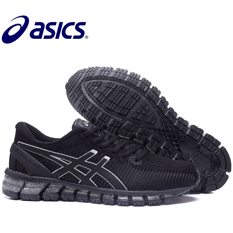 2018 Original New Arrival Asics Gel-Quantum 360 Man's Shoes Breathable Running Sports Shoes Outdoor Tennis Shoes Hongniu asics tiger gel lyte iii lc