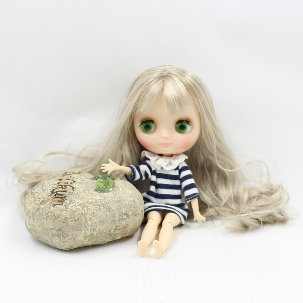 Middie Blythe Doll Blonde Hair Jointed Body 20cm 3
