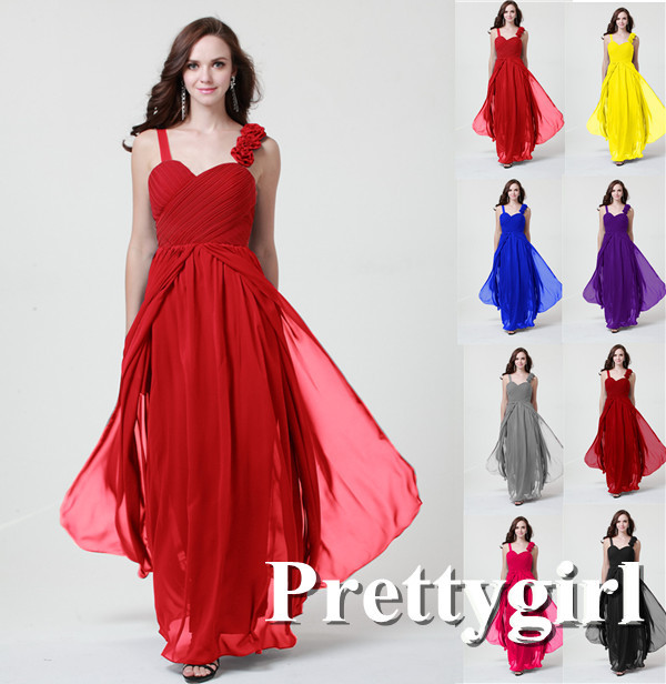 Dark pink and black dresses