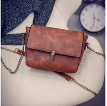 2017 new Designer chain Women Messenger Bags Women Black Casual Bag Dollar Price PU Leather Small Crossbody Shoulder Bags