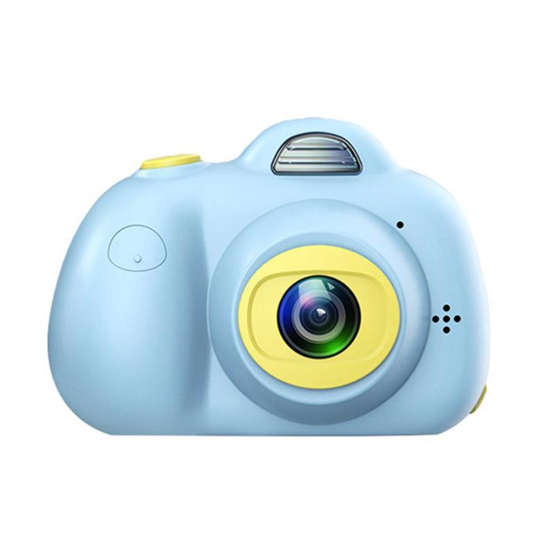 2 pouces HD écran numérique Mini caméra pour enfants + lecteur de carte mémoire carte automatique photographie prise de Photo vidéo
