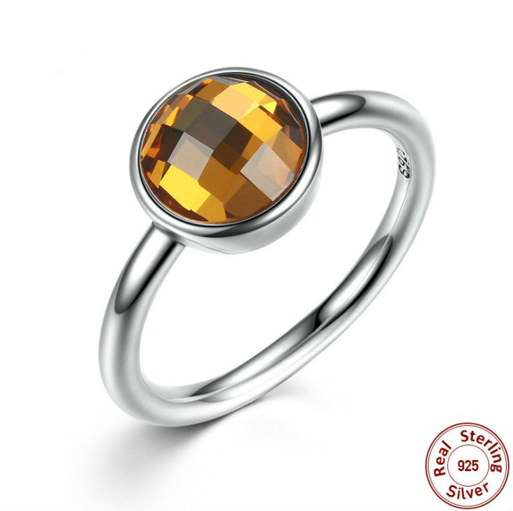 2018 New summer Inlaid Crystal from Austrian ring For Women Fashion 925 Jewelry Rings Wh ...