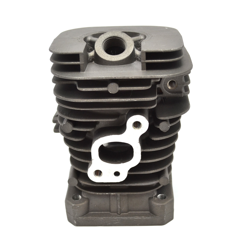 Chainsaw Cylinder Head Block 41mm for Partner 350 Poulan HUS Chain Saw Engine Parts #530012552 manufacturers 5200 chainsaw cylinder assy cylinder kit 45 2mm parts for chain saw 1e45f on sale