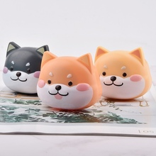 Cute Cartoon Contact Lens Case Portable Kit Travel Container With Mirror