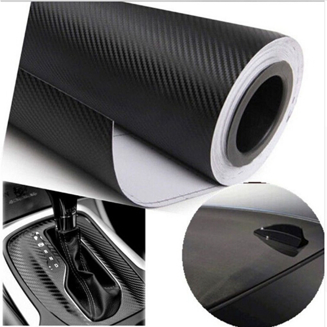 Car Styling Waterproof Car Sticker 152cmx50cm 3D Carbon Fiber Vinyl Film Car wrap DIY Car Tuning Part Sticker