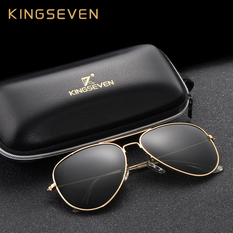 58mm Rétro lunettes de Soleil Femmes Kingseven Marque De Luxe Femmes lunettes de Soleil Pour Femmes 2016 Mode Oculos Designer Shades Unisexe 3026