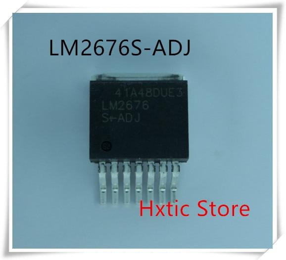10pcs/lot  LM2676S-ADJ LM2676 TO-263
