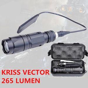 Новое поступление, элемент ночной эволюции, тактический страйкбольный светильник Kriss, Vector Flash, светильник 265 люмен, охотничье оружие, охотнич...