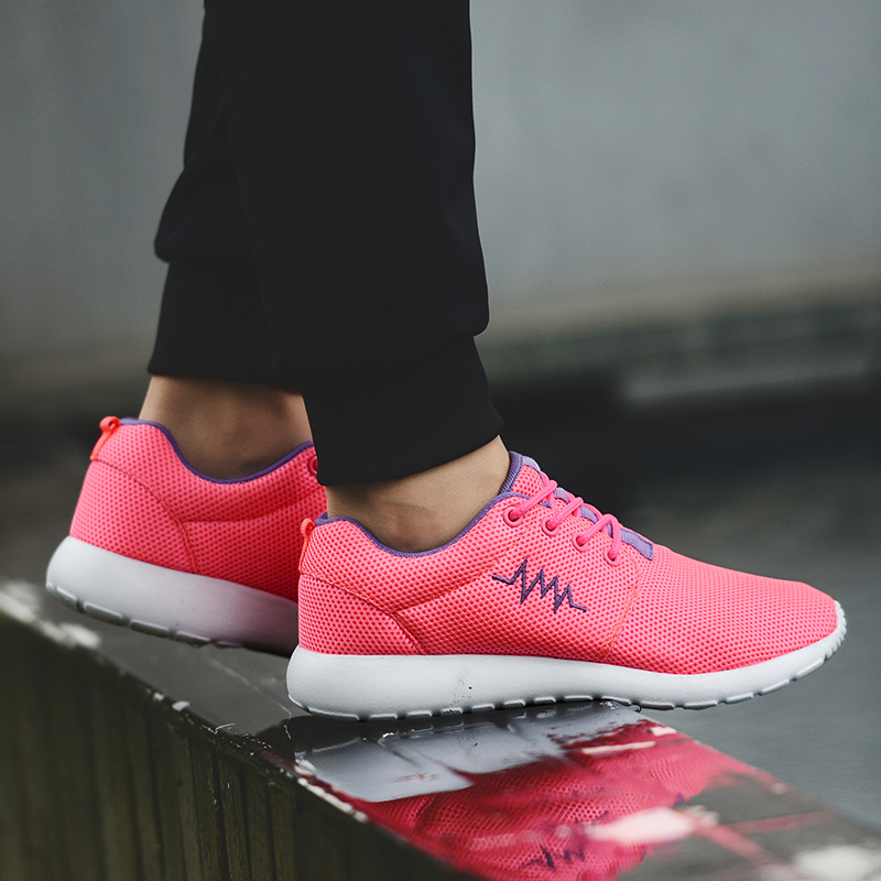 CASMAG Classic Men and Women Sneakers Outdoor Walking Lace up Breathable Mesh Super Light Jogging Sports Running Shoes 56