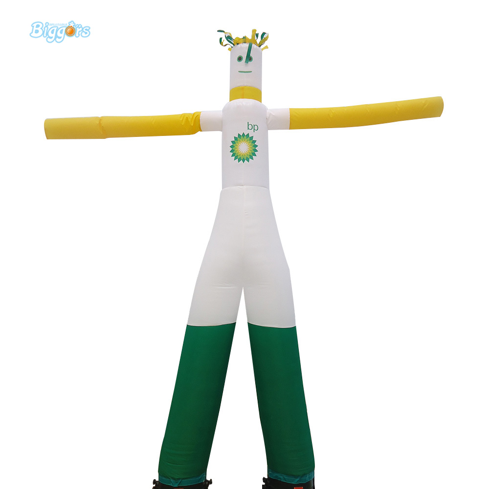 Double Leg Air Inflatable Dancer Tall Sky Inflatable Tube With Air Blower Included цена и фото