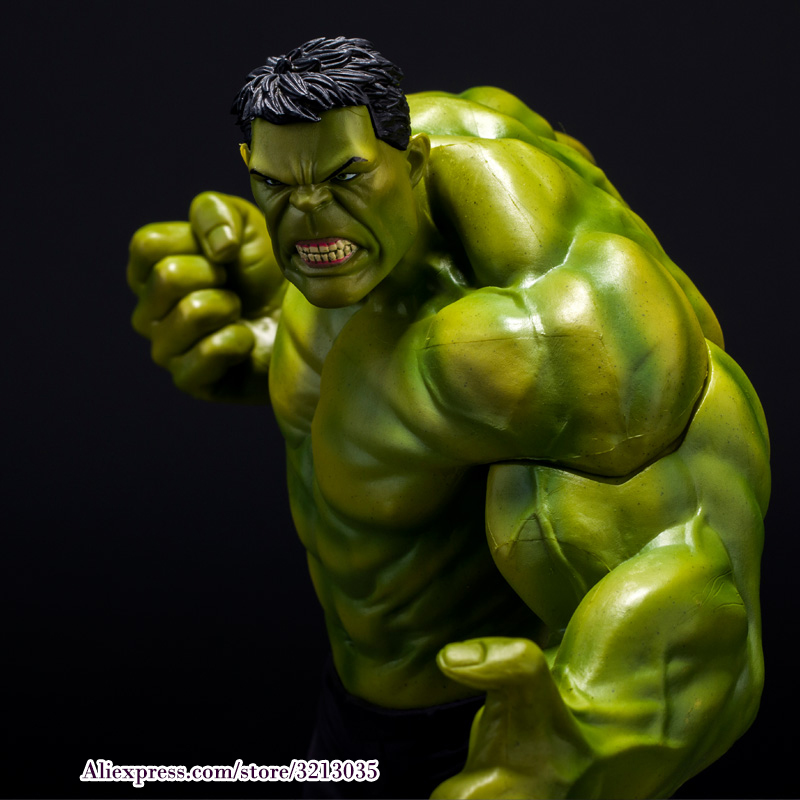 23cm Super Heroes The Marvel Avengers Select Movie Anger Hulk Action Figures Toys PVC Resin Plastic Model Statue Dolls Kids Toys movie super hero the hulk pvc action figure toy 25cm red hulk green hulk figures toys free shipping