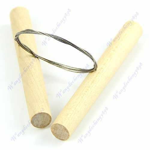 E74 Hot Sell 1pc Wire Clay Cutter For Fimo Sculpey Plasticine Cheese Pottery Tool Ceramic Dough