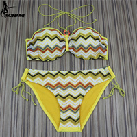 EONAR Handmade Crochet Bikinis Women Swimsuit 2017 Brazilian Bikini Set Push Up Swimsuits Bathing Suits Women