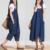 2016 promoción de venta mujeres de maternidad del verano trajes jeans pantalones de mezclilla dama de la moda femenina monos mamelucos pantalones grandes