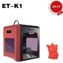 Лучшие 3D Принтер ET-K1 Отличное Качество Экономически Эффективным Авто Выравнивания Плавленый Осаждение Моделирование Single Extruders Наливные Печати