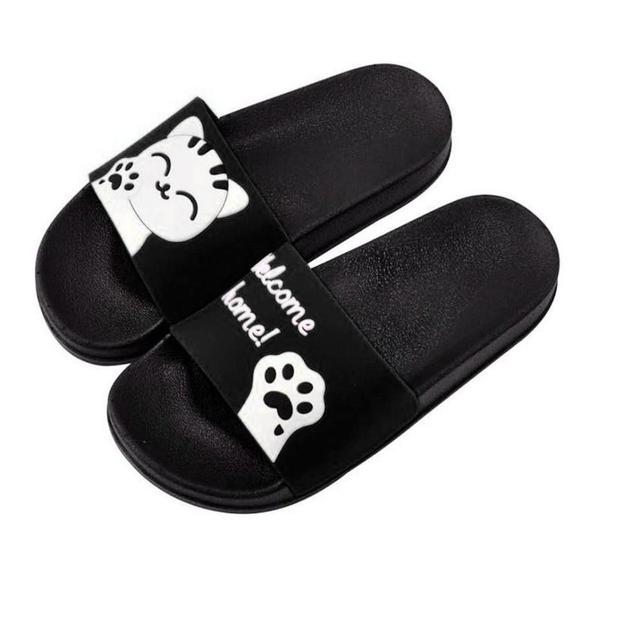 0732d1ffa5e1bc Unisex Men Women Home Slippers Panda Slippers Beach Shoes Sandals 2018  shoes flip flops on the platform zapatos mujer pantufa