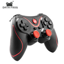 все цены на DATA FROG Wireless Android Gamepad Game Controller For PC For PS3 Bluetooth Gaming Joystick For Android Phone  For iphone Phone онлайн