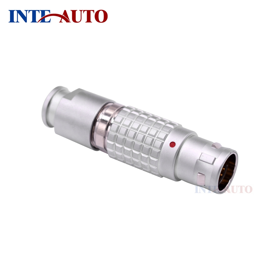 цена High quality medical coaxial hybrid LEMO compatible 2B 10 pins male female connector *2, and 1*FGJ.1B.306(4+2)
