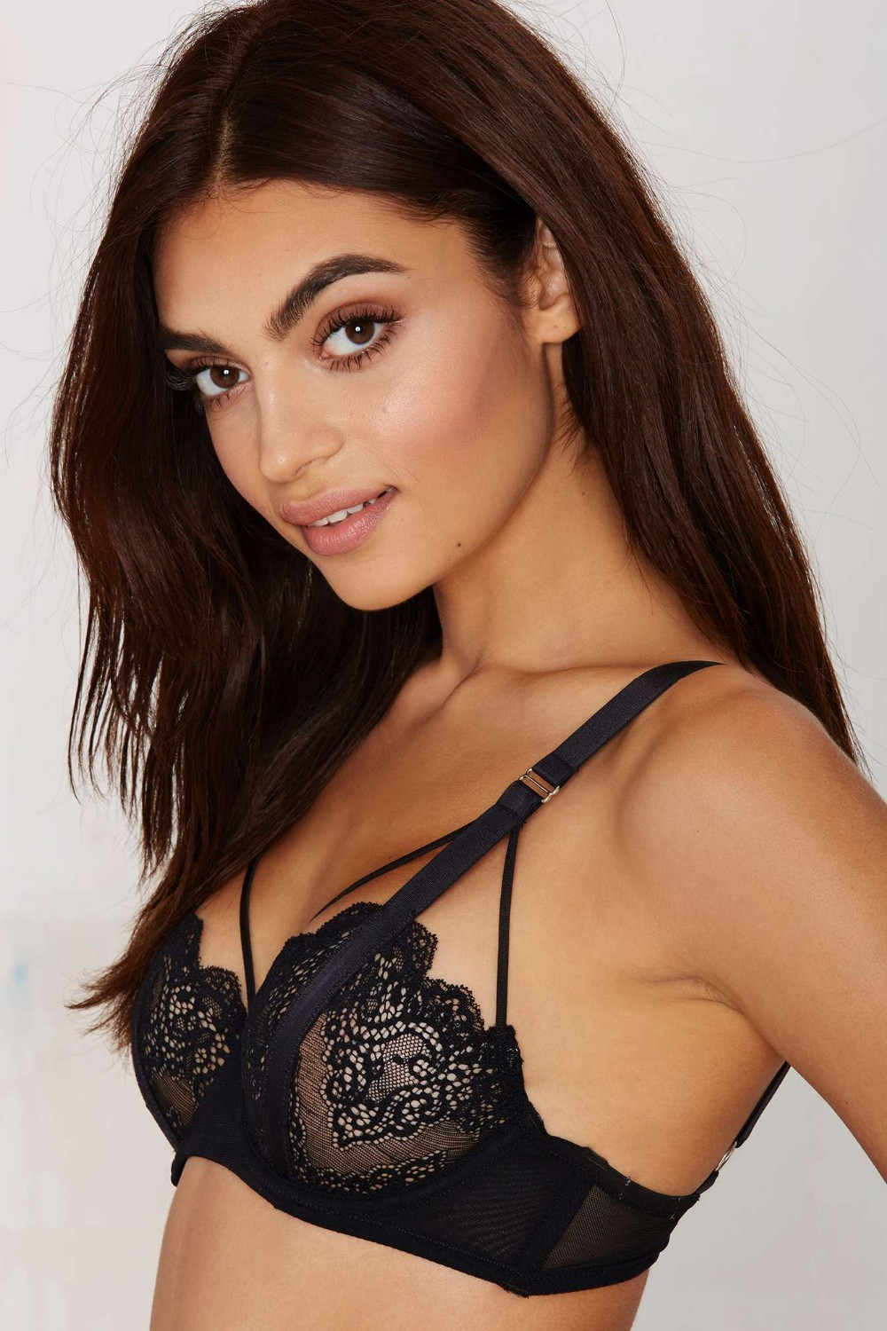 330d04f1972 sexy floral lace bustier crop tops bra bralette black plus size XL push up  summer halter top casual blusa feminina cage bra-in Bras from Underwear ...