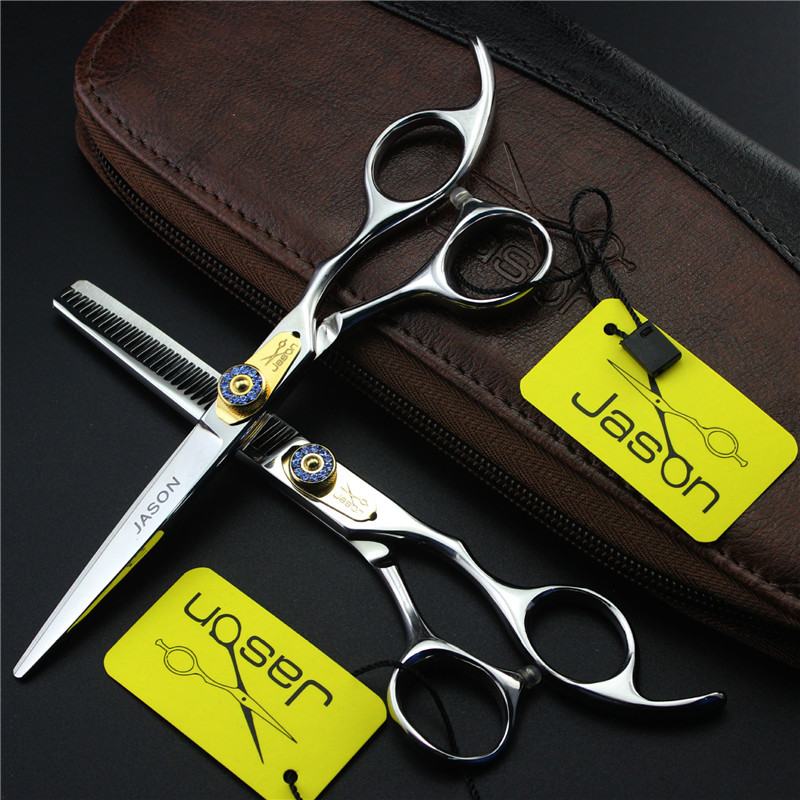 5.5 Sliver Japan Hair Scissors Teflon Shears Cheap Hairdressing Scissors Barber Thinning Scissors Hairdresser Razor Haircut
