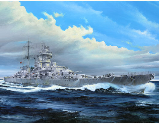 1pcs Action Figures Kids Gift Collection For Trumpeter 05313 1/350 German Cruiser Prinz Eugen 1945 Plastic Model Warship Kit trumpeter model artwox 05302 navy hood british cruiser wooden deck aw10023