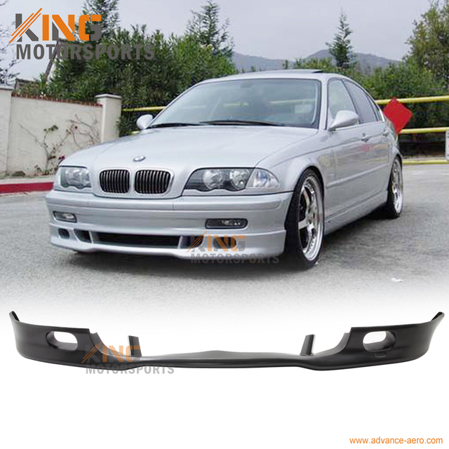 Us 91 19 For 1999 2000 2001 Bmw E46 3 Series 325 328 4dr Euro Style Front Bumper Lip Pu Spoiler In Bumpers From Automobiles Motorcycles On