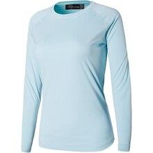 Jeansian Womens UPF50 + UV Outdoor Sport Tee Shirt T-Shirt Tshirt Long Sleeve Beach Summer SWT246 LightBlue2
