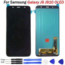 For Samsung Galaxy J8 LCD Display J8 2018 J810 Display Touch Screen Digitizer Assembly 6.0'' For Samsung J8 Lcd Screen Replace все цены