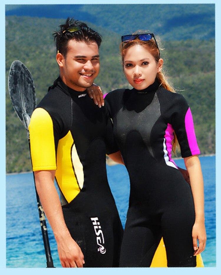 mulheres dos homens wetsuit mergulho macacão de