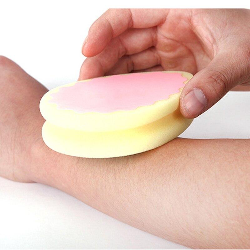 1pcs Soft Magic Hair Removal Sponge Pads Painless Depilation Sponge Pad Hair Remover Sponge Tool For Beauty Women Men Epilator