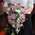 2016 Свадебные Цветы Свадебные Букеты Свадебный Букет Искусственные Цветы Украшения Праздничные Атрибуты Новый