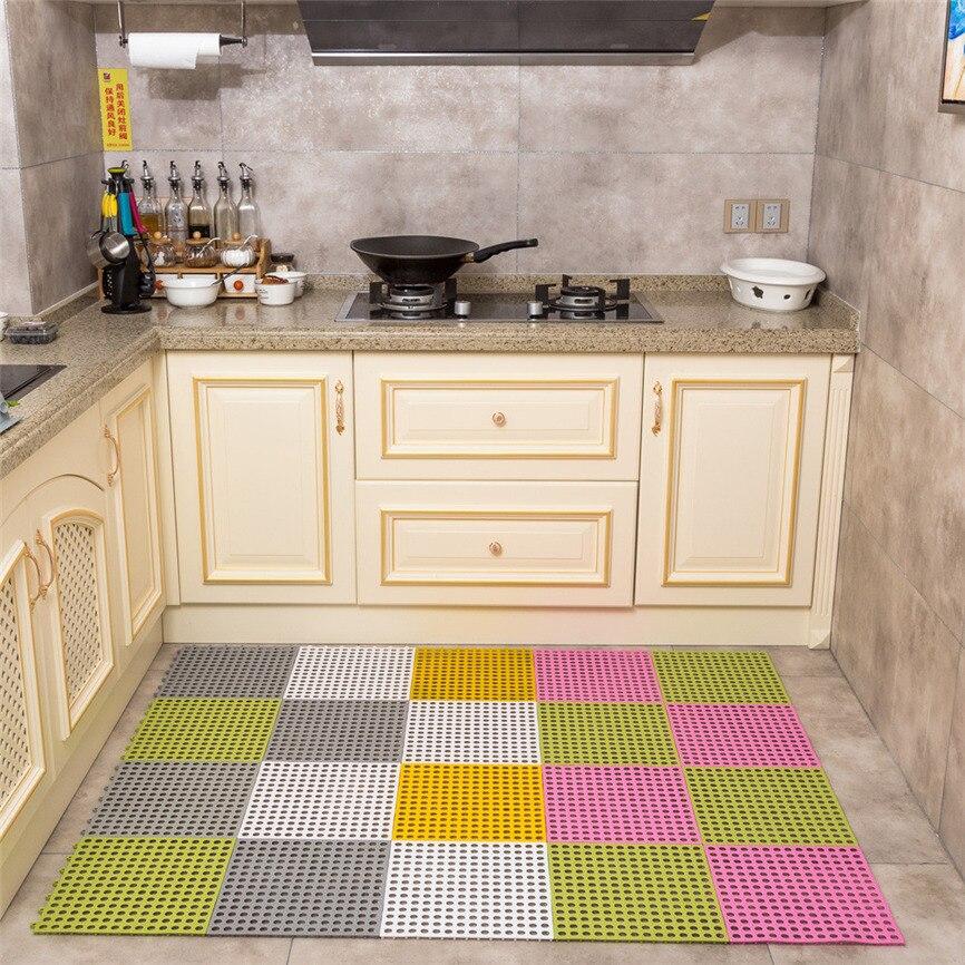 Non-slip Mats Kitchen Bathroom Carpet Non-Slip Household Ground Rug For Bathroom Kitchen Bedroom 30*30cm Dropshipping 0116