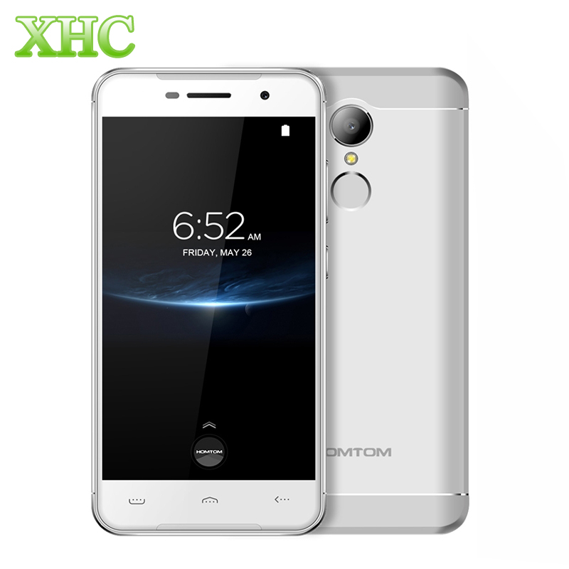 HOMTOM HT37 Pro 4G lte Mobile Phone Fingerprint Id 5.0 inch Android 7.0 Smartphone MTK6737 Quad Core RAM 3GB ROM 32GB 3000mAh