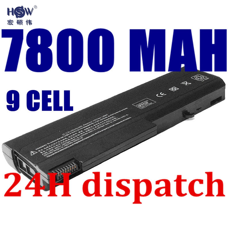 HSW 9cells new Laptop Battery For HP ProBook 6550b ProBook 6555b For hp laptop battery 6530b 6535B 6730B 6735B bateria akku generic new black laptop us keyboard for hp compaq 6530b 6535b series replacement parts
