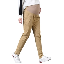 Size M-4XL Maternity Pants Cotton High Waist Pregnancy Elastic Trousers ropa premama Clothes