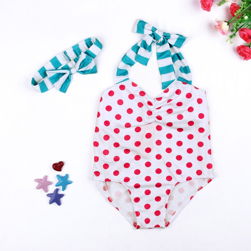 2-6T 2018 Summer New Baby Swimsuit Comfortable For Dressing In Playing In Beach Girls Bodysuit Jumpsuit W1
