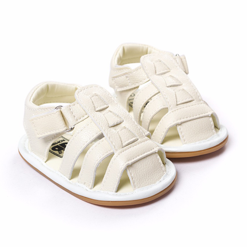 Summer White baby Soft Sole shoes 0-18 Months newborns First Walkers Fashion PU Leather infant shoes toddler shoes