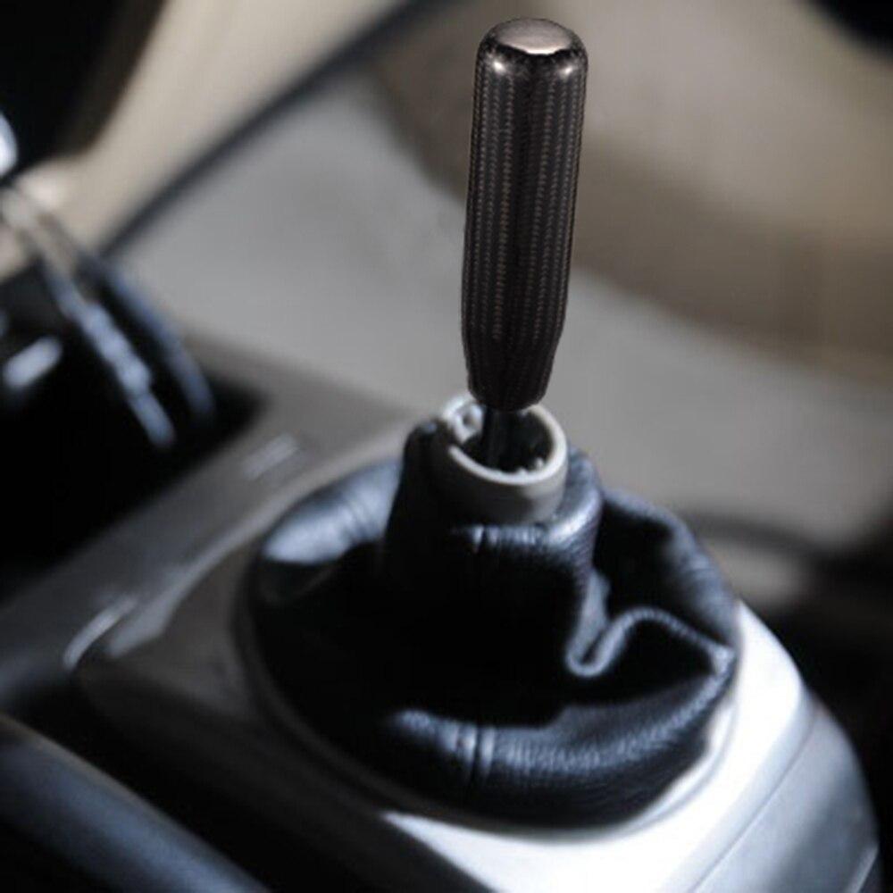 13cm carbon fiber black car manual shift knob gear shift head rh aliexpress com manual shift knobs 6 speed manual shift knobs canada