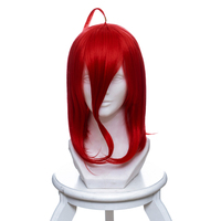 ccutoo Houseki no Kuni Phosphophyllite Cinnabar Bort Rutile Amethyst Yellow Diamond Synthetic Hair Cosplay Full Wigs