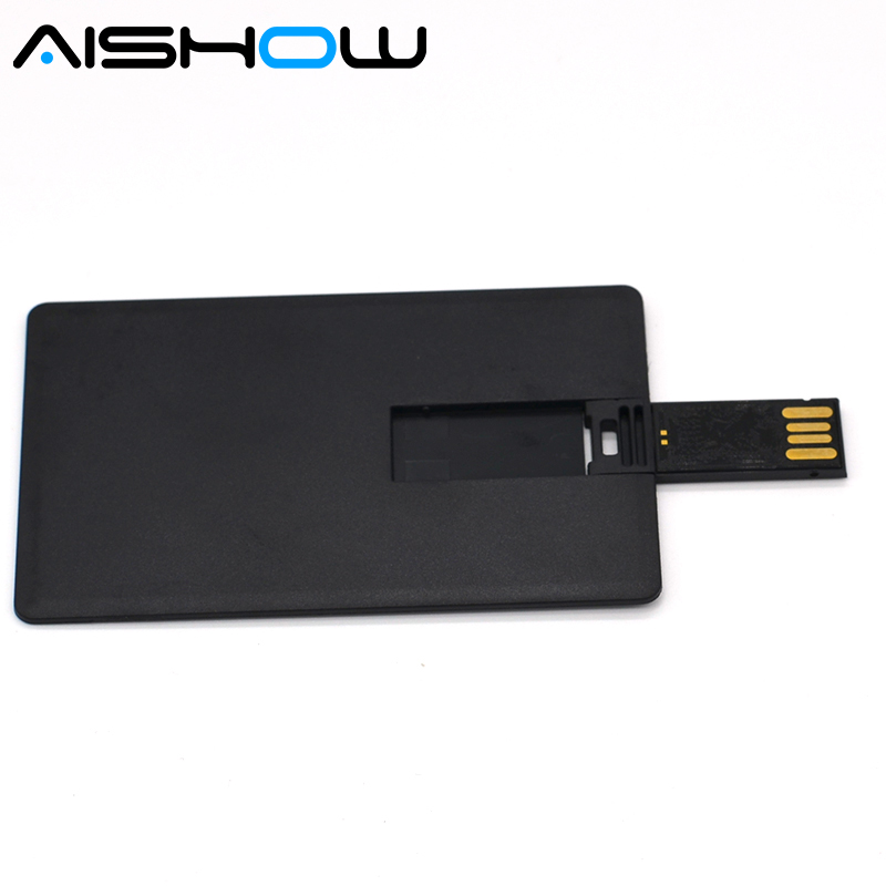4gb 8gb 16gb 32gb Wholesale 1PCS customized credit card usb flash drive Business &holiday gift usb flash drive image