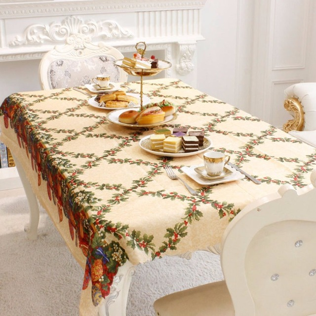 Beautiful Design Christmas Home Kitchen Decoration Dining Table