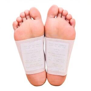 Пластырь для ног из бамбукового уксуса, 1 упаковка = 10 шт., увлажнение и улучшение сна, облегчение усталости, уход за ногами