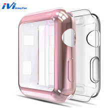 2pcs Watch 3 Frame Case Cover For Apple 42mm 38mm iwatch 2 1 protective screen protector plating