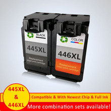 PG445 CL446 for canon PG-445 XL ink cartridge replacement for Canon PG 445 CL 446 for PIXMA MG2180 / 3180 / 4180 /MG4280