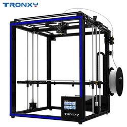 El más nuevo 2018 Tronxy 3D impresora X5SA-400 de alta precisión de velocidad rápida DIY impresora con Sensor de 3,5 pulgadas de pantalla táctil