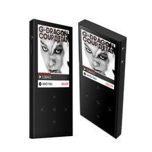 2017 D'origine BENJIE X1 Écran Tactile 8 GB MP3 Lecteur de Musique Haute qualité Sans Perte Alliage Support En Métal Du Corps 128 GB TF Carte avec FM