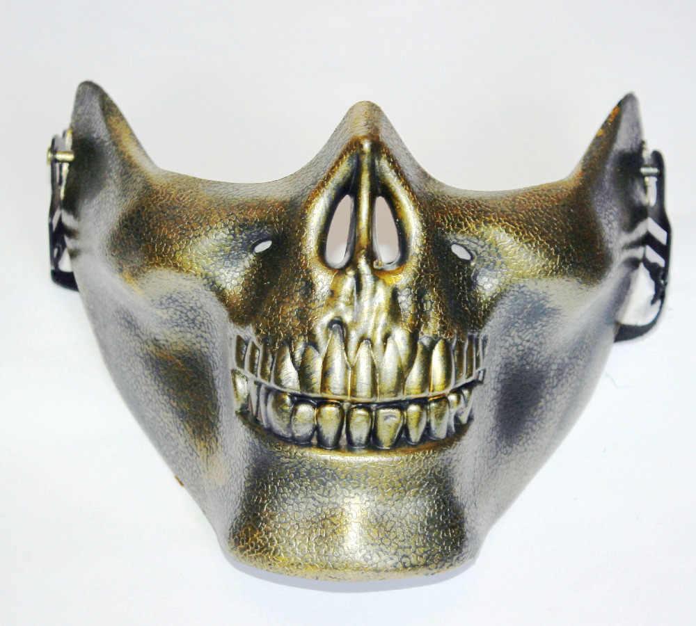 ANGRLY Predator Maschera di Halloween Cospaly Partito Delle Materie Plastiche Alien vs Predator Warrior Mascherato Costume Maschera Pieno Viso Maschere Cosplay Regalo