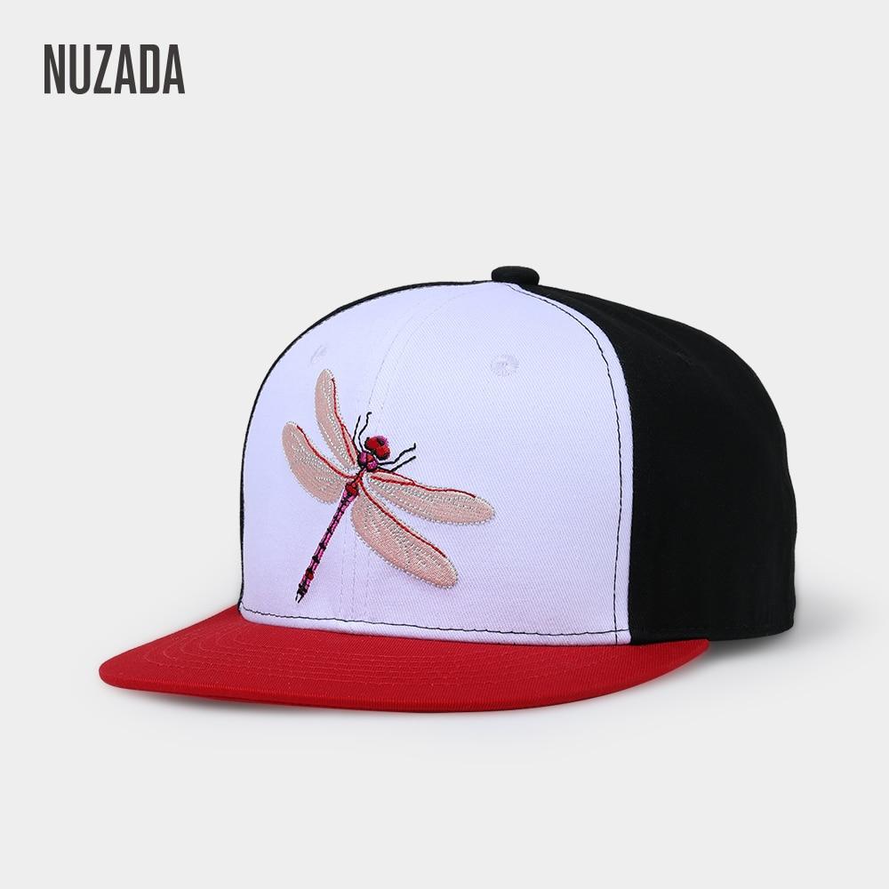 NUZADA Embroidery Boutique Animal Men Women Neutral Hip Hop Cap Couple  Spring Summer Original Design Caps