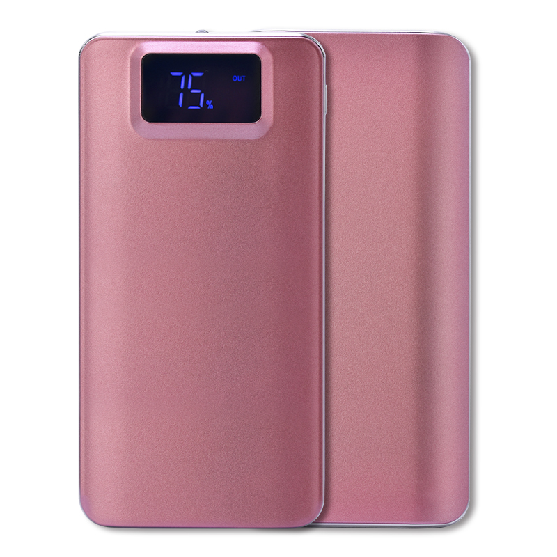 2018 New 20000mAh External Battery Quick Charge Dual USB LCD Powerbank Portable Mobile P ...